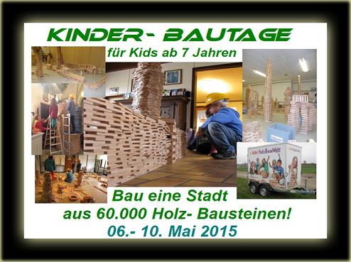 Holzbautage Mai 2015