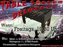 Kicker-Flyer 2007 - Table Soccer Deluxxxe